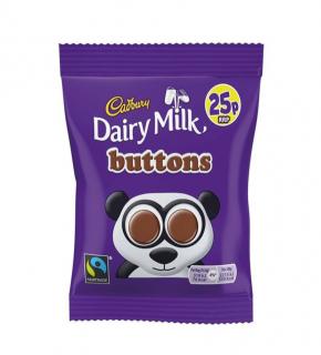 Cadbury Buttons Tejcsokoládé korongok