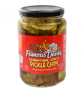 Famous Dave's Pickle chips