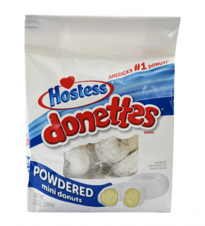 Hostess donettes powdered