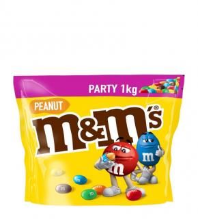 M&M's földimogyoró golyó