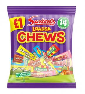 Swizzel's Loadsa Chews Bags